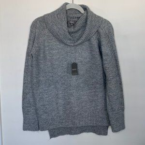 Oasis Silver Cowl Neck Sweater